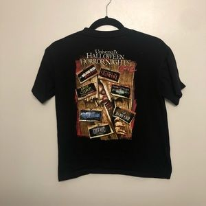 Horror nights zombie no way out 2012 shirt black